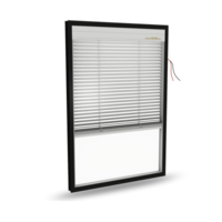 lnsulated glass with electric blinds (Top Down) Model:A27
