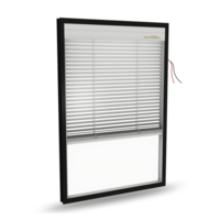 lnsulated glass with electric blinds (Top Down) Model:A21